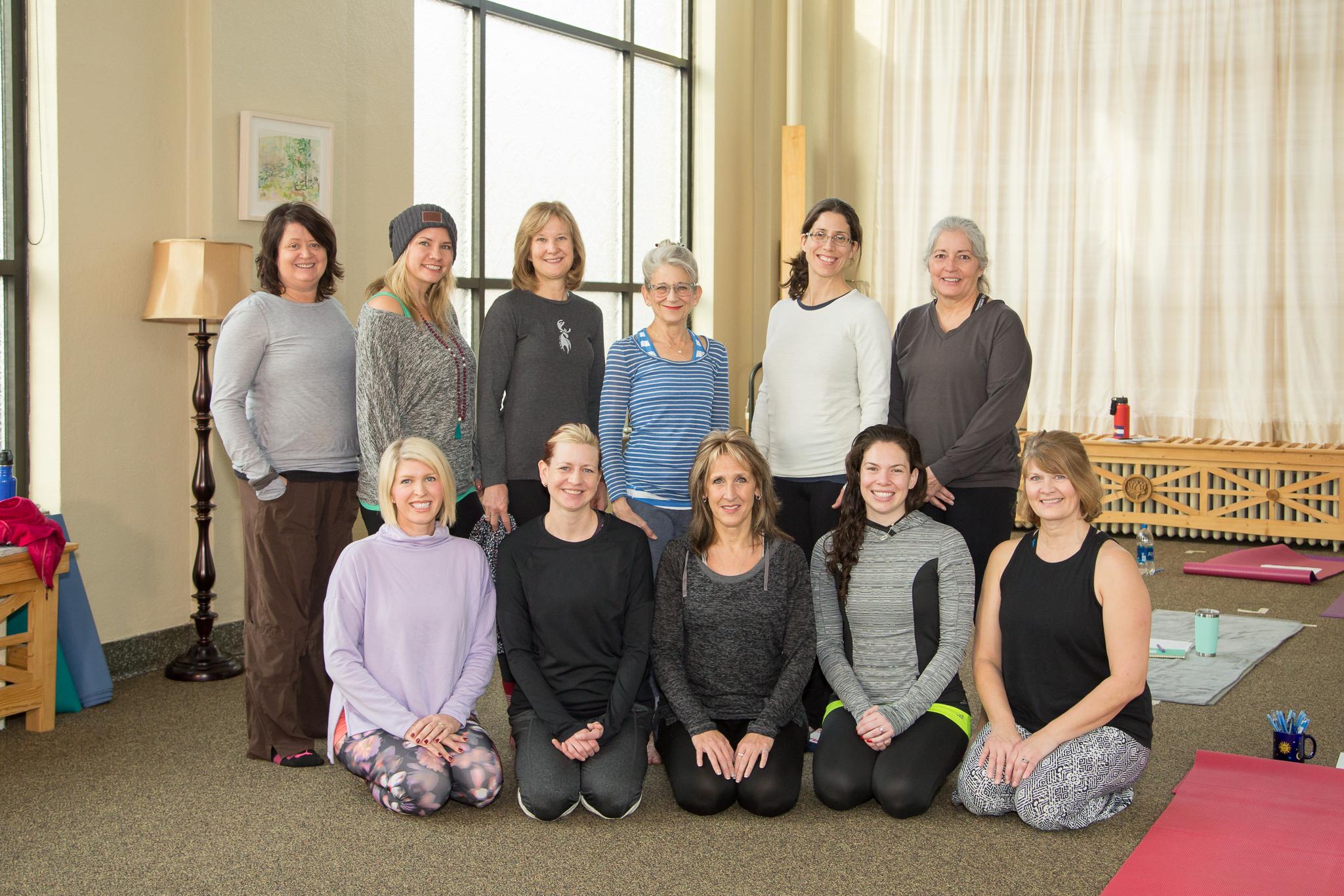 Sun Moon Yoga Teacher Trainees